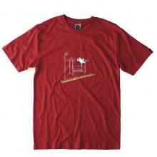Moon Bus Stop Climber T-Shirt