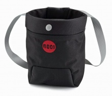 Moon Trad Chalk Bag NEW Jet Black